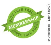 free membership origami style... | Shutterstock .eps vector #1384556474