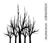 illustration sketch of dead...   Shutterstock .eps vector #1384635014