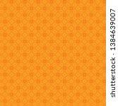 Quatrefoil Ornamental Orange...