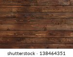 close up of wall made of wooden ... | Shutterstock . vector #138464351