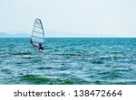sailboat at the beach | Shutterstock . vector #138472664