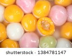 traditional chinese sweet rice... | Shutterstock . vector #1384781147