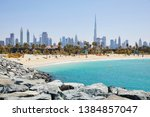 the beach of 'la mer'  the sea  ... | Shutterstock . vector #1384857047