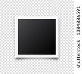 photo card frame film. retro... | Shutterstock .eps vector #1384886591