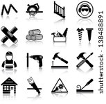 carpentry related icons ...