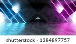 vibrant triangle neon... | Shutterstock . vector #1384897757