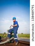 oil engineer | Shutterstock . vector #138489791