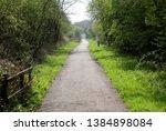 hull to hornsea rail trail ... | Shutterstock . vector #1384898084