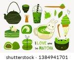 Various Matcha Tea Products....