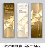 vector banners. set of three.... | Shutterstock .eps vector #138498299