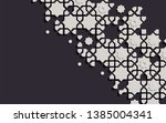 arabic arabesque design... | Shutterstock .eps vector #1385004341