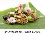 thailand herbal body scrub for... | Shutterstock . vector #138516401