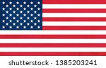 the united states of america... | Shutterstock . vector #1385203241