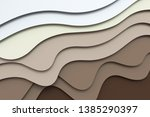 3d rendering  multilayer paper... | Shutterstock . vector #1385290397