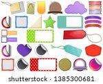 set of tag label illustration | Shutterstock .eps vector #1385300681