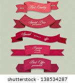 set of superior quality and... | Shutterstock .eps vector #138534287