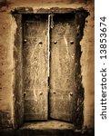 Close Up Image Of Ancient Doors
