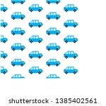 blue saloon pattern pixel on a... | Shutterstock .eps vector #1385402561