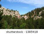 rocky mountain   Shutterstock . vector #1385418