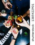 drink photography at the bar  ... | Shutterstock . vector #1385422901
