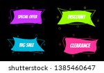 design banner sales with color... | Shutterstock .eps vector #1385460647