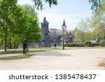 city prague  czech republic.... | Shutterstock . vector #1385478437