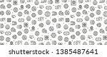 vector illustration of global... | Shutterstock .eps vector #1385487641