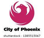 seal of usa city of phoenix ... | Shutterstock .eps vector #1385515067