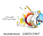 abstract colorful pattern with... | Shutterstock .eps vector #1385517407