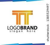 tt initial letter logo vector   Shutterstock .eps vector #1385529497