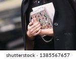 milan  italy   february 24 ...   Shutterstock . vector #1385567657