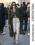 milan  italy   february 21 ...   Shutterstock . vector #1385567684