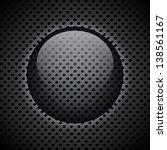 metal circular grid. abstract... | Shutterstock . vector #138561167