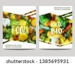 vector brochure design template ... | Shutterstock .eps vector #1385695931