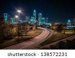 Charlotte City Skyline And...