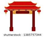 Chinese Gate Architecture...