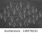 social network connections | Shutterstock . vector #138578231