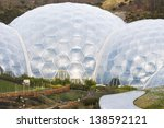 the eden project  near st... | Shutterstock . vector #138592121