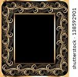illustration background frame... | Shutterstock .eps vector #138592901