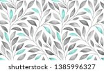 seamless pattern with stylized... | Shutterstock . vector #1385996327
