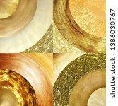 abstract golden circles... | Shutterstock . vector #1386030767