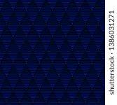 Navy Blue Hatching Pattern...