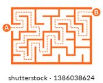 illustration with simple... | Shutterstock .eps vector #1386038624
