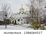 Pokrovsky Cathedral of the intercession convent in Suzdal. Orthodox Church in Vladimir region of Russia.