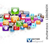 vector illustration of network...