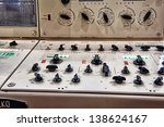 Control Panel Of Submarine....