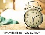 retro alarm clock | Shutterstock . vector #138625004
