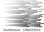 speed lines in arrow form .... | Shutterstock .eps vector #1386253514