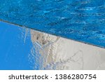 fresh water background and... | Shutterstock . vector #1386280754