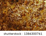 rusted metal texture. rusted... | Shutterstock . vector #1386300761